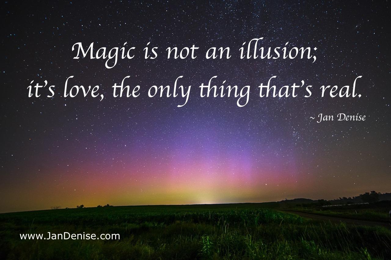 Let's trust the magic …