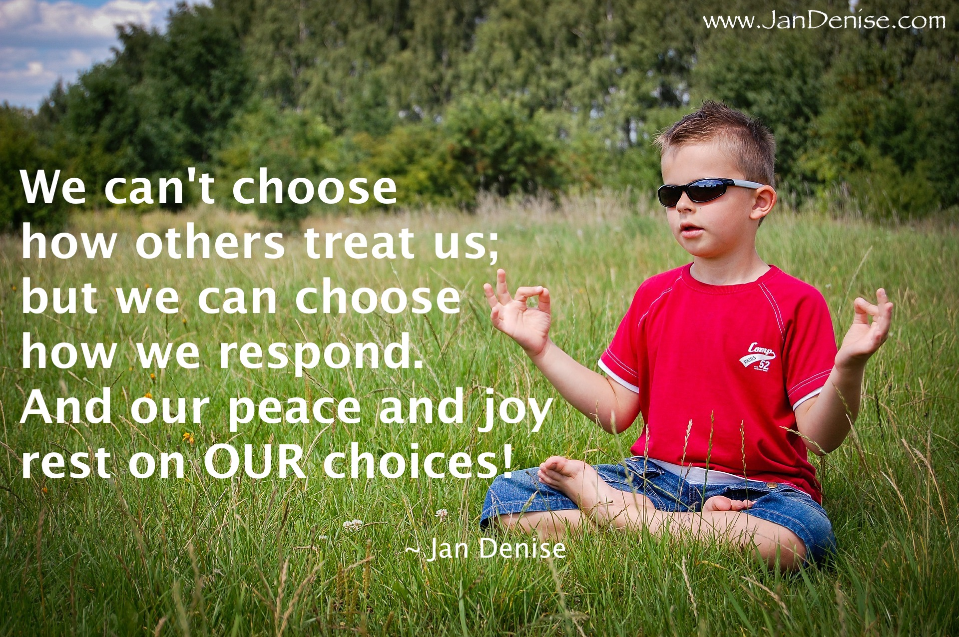 How are you choosing?
