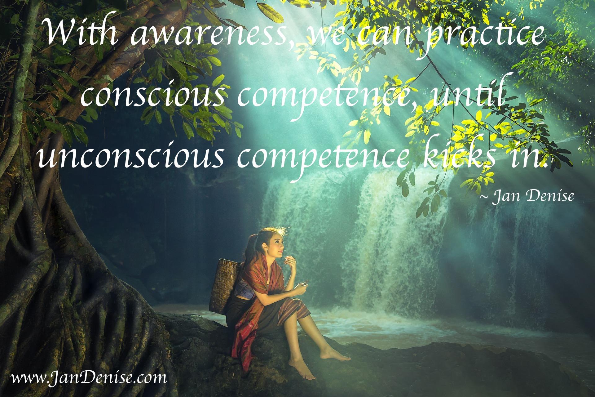Awareness …