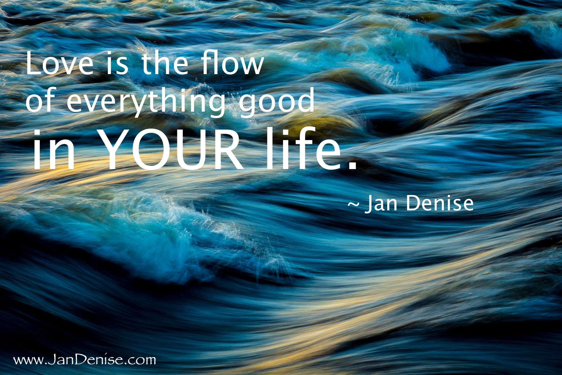 YOUR flow …