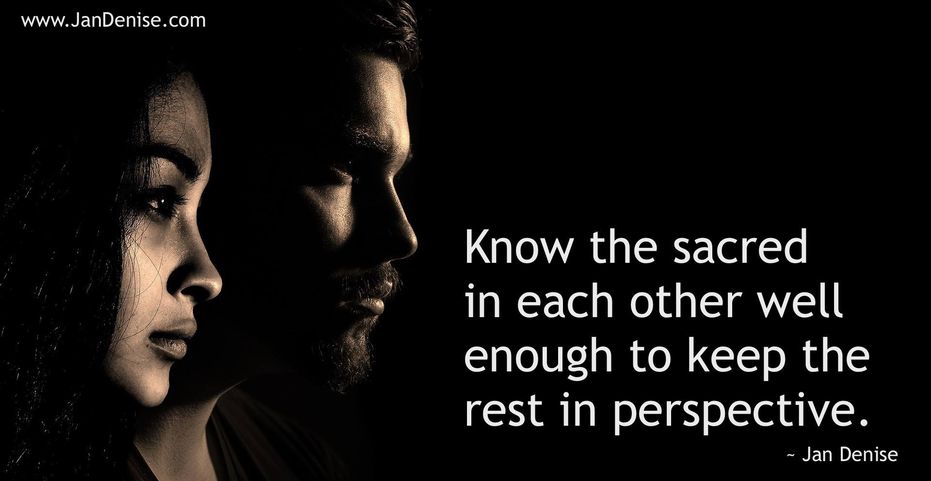 Know people …