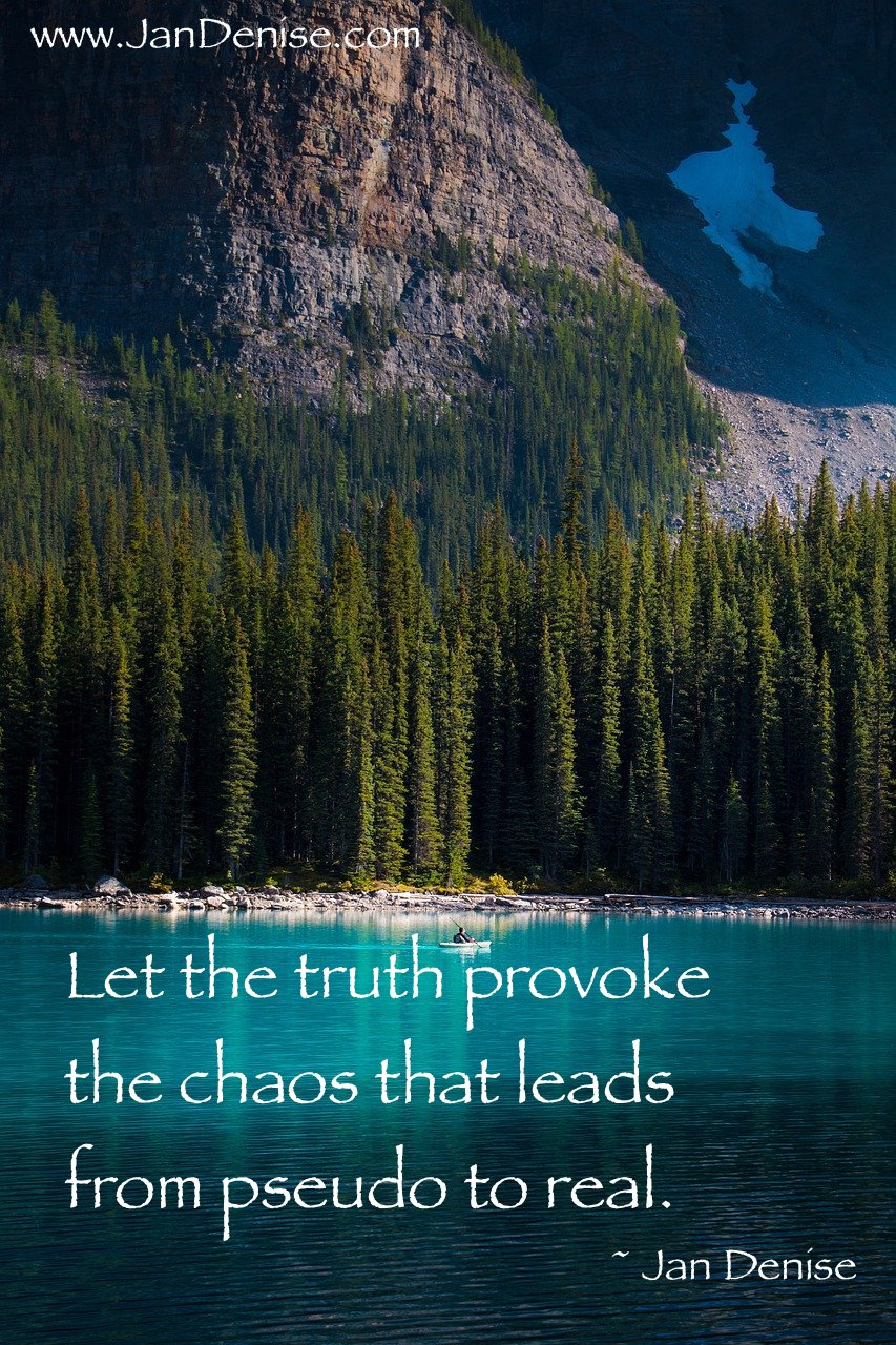The path to peace …