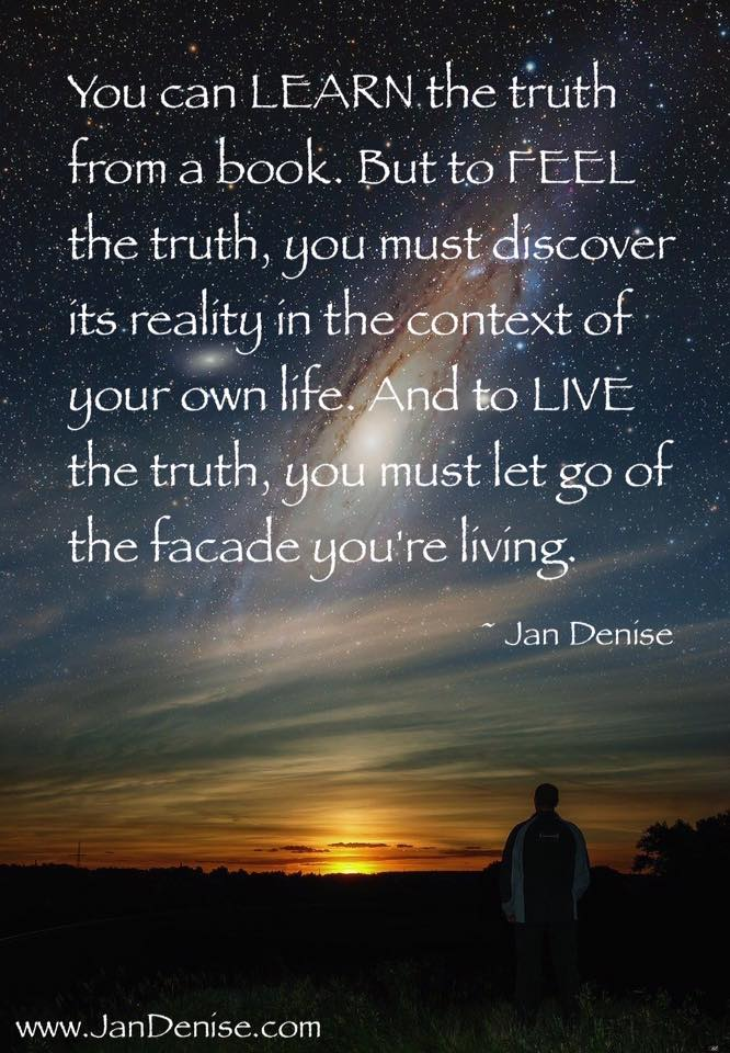 How do you manifest your truth?