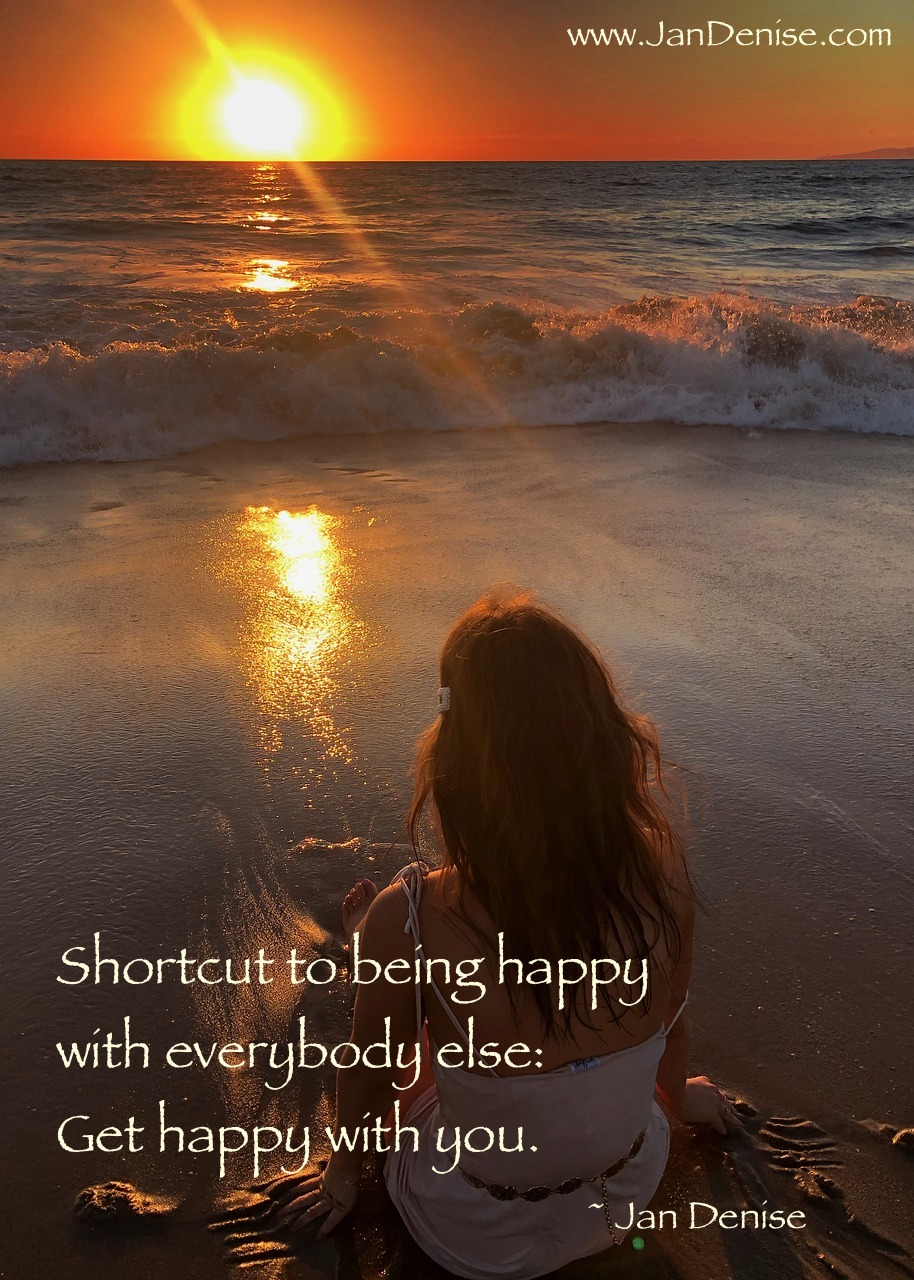 Shortcut to happy …