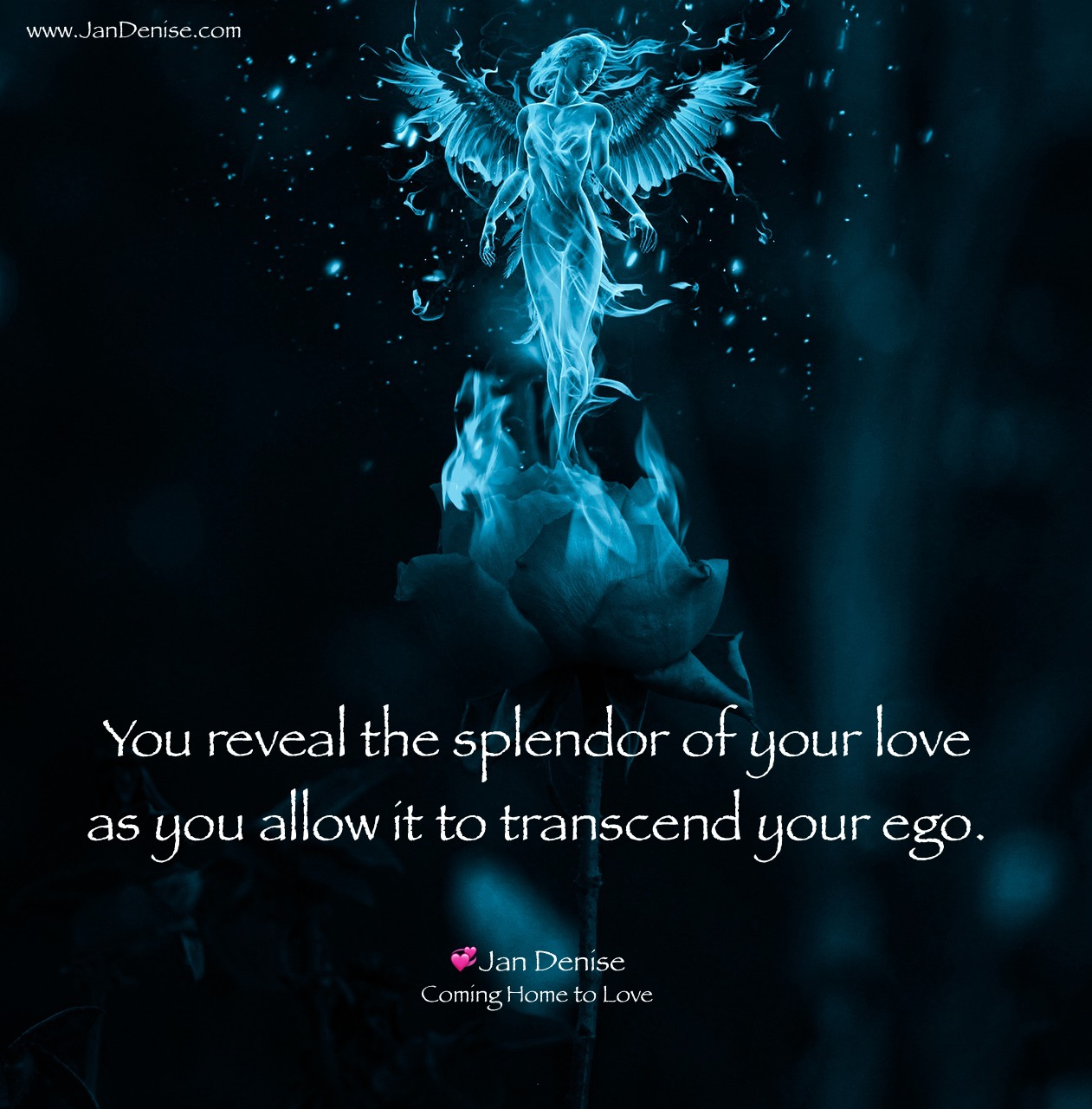 We can yield our ego to love …