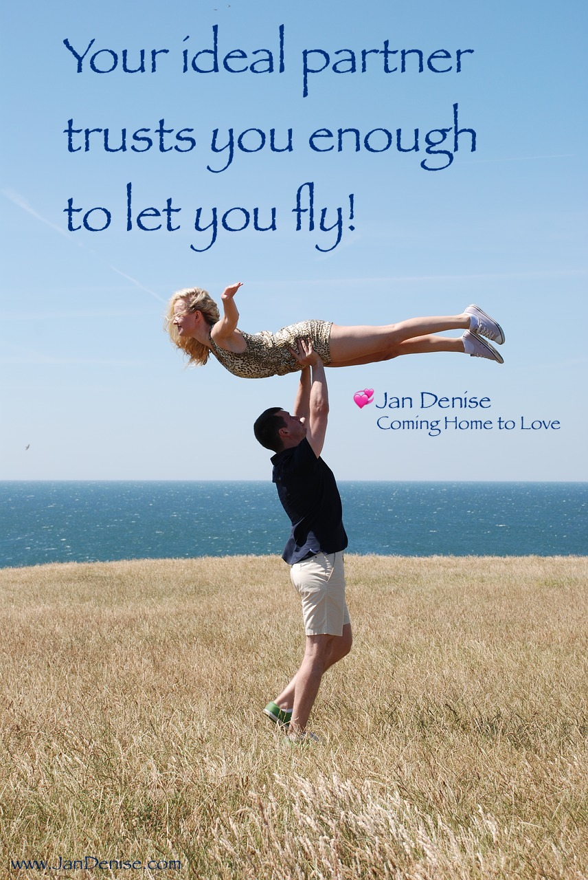 Are you flying … letting your partner fly?